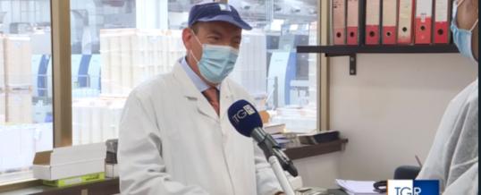 RAI interviews the De Robertis company from Putignano